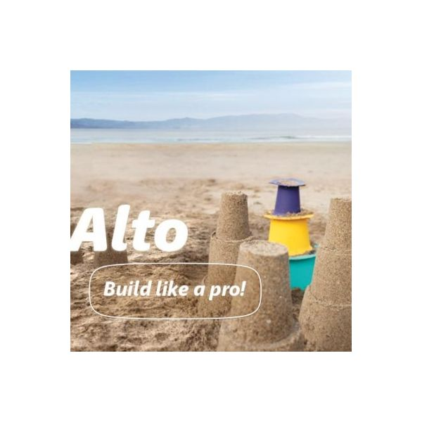 Leg i sandet - alto - build like a prof