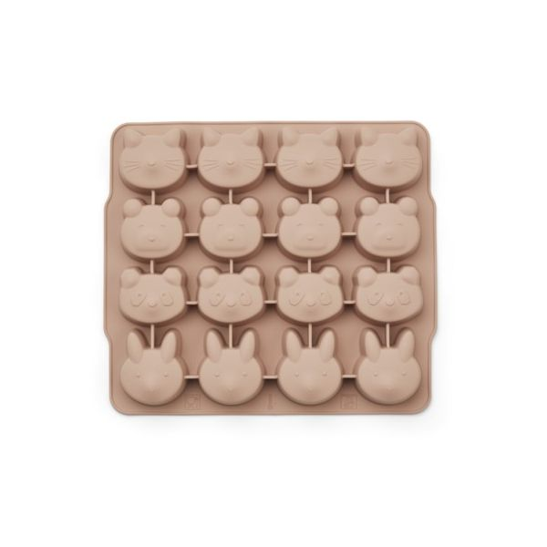 Isterningforme i silikone - Sonny ice cube tray - 2 pack, rose mix - Liewood