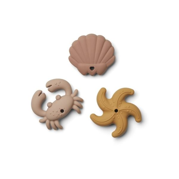 Bidelegetøj  - Tonk mini teethers - 3 pack - Rose multi mix - Liewood