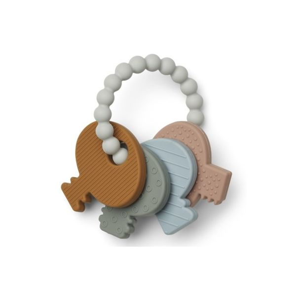 Bidelegetøj - Kay key teether - Multi mix - Liewood