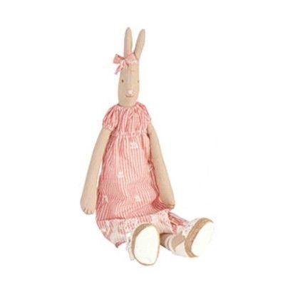 Kanin fra Maileg, medium - Elisa i rød kjole