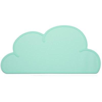 Dækkeserviet i silicone - aqua sky - KG Design