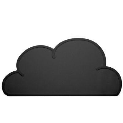 Dækkeserviet i silikone - sort sky - KG Design