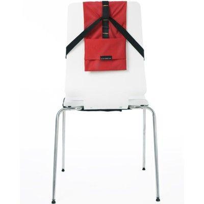 Barnestol i rød - In the pocket baby