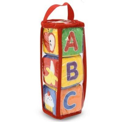 ABC klodser i stof