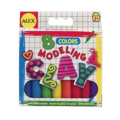 Modelervoks - 8 farver
