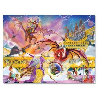 Puslespil - Dragon storm, 500 brikker