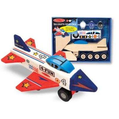 Flyvemaskine - lav din egen jetmaskine i træ