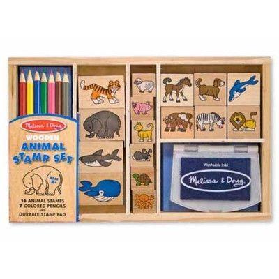 Stempelsæt med dyr - Melissa & Doug
