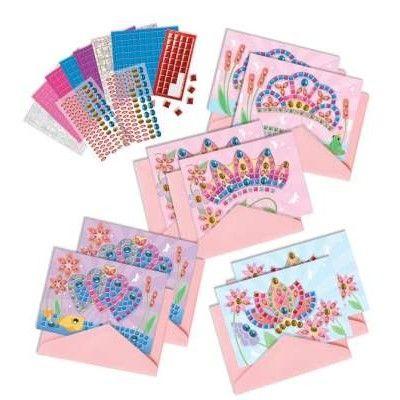 Mosaik - kort med tiaraer