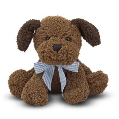 Hund med lyd - tøjdyr - 19 cm