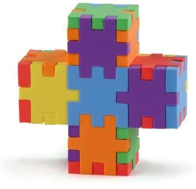 3D - puslespil, Happy cube