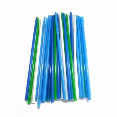 Sugerør - grønne/blå/hvide