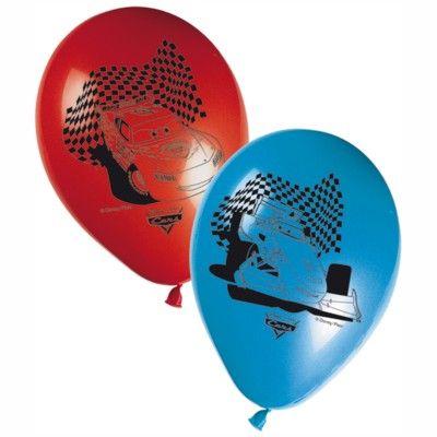 Balloner - Cars - 8 stk