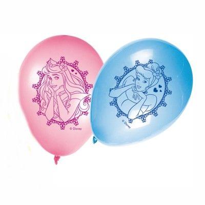 Balloner - Disneyprinsesse - metallic