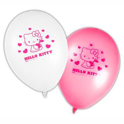 Balloner - Hello Kitty - 8 stk