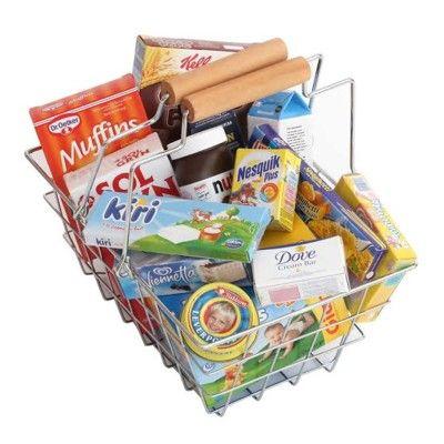 Legemad - Indkøbskurv med mad
