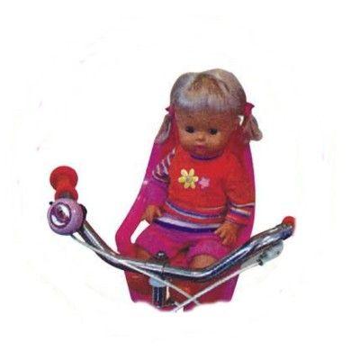Cykelstol til dukker - pink