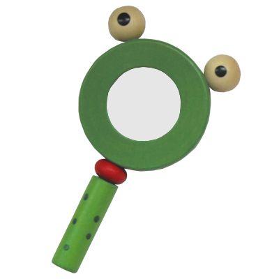 Forstørrelsesglas, grøn frø
