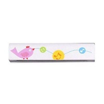 Mundharmonika - lyserød fugl