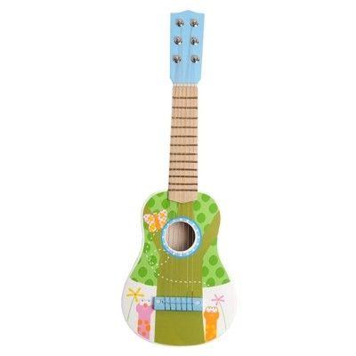 Guitar - lyseblå/grøn