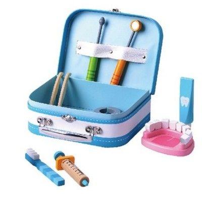 Tandlægesæt i flot kuffert