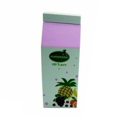 Legemad - Juicekarton i træ - multi frugt