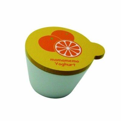 Legemad - Yoghurt i træ - appelsin