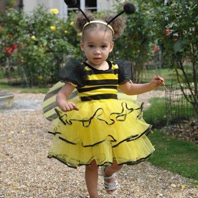 Humlebi - kjole - 2-3 år