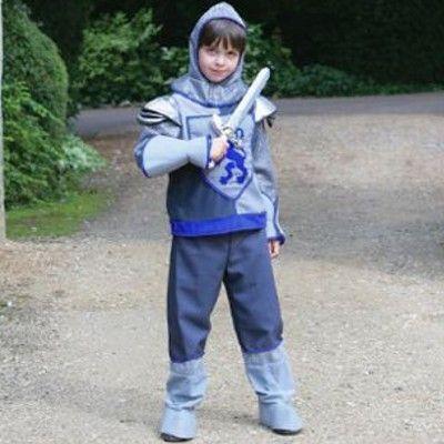 Udklædning - ridder med sværd 3 til 5 år