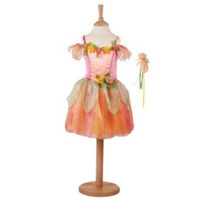 Fe kjole med fe-stav - 3 til 5 år