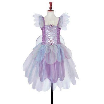 Fe kjole med vinger - lyslilla, 3 til 5 år