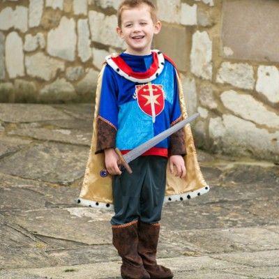 Udklædning - prins med sværd, 3 til 5 år