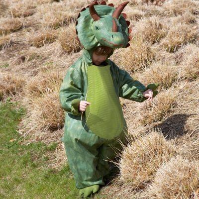Udklædning - Triceratops, 6 til 8 år