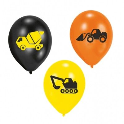 Balloner - Construction - 6 stk