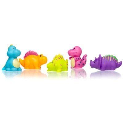 Badelegetøj - dinosaurer som kan sprøjte vand, 5 stk