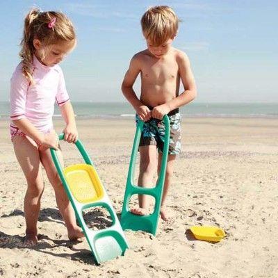Leg i sandet - scoppi, at grave og si