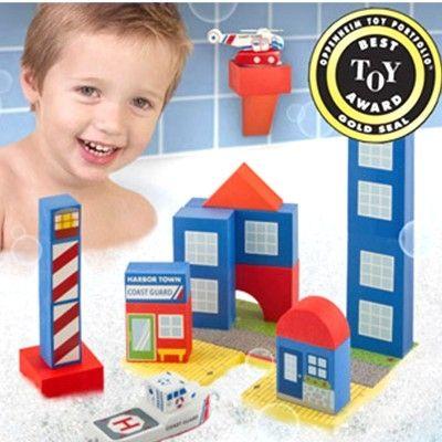 Legetøj til badet - coast guard, stor