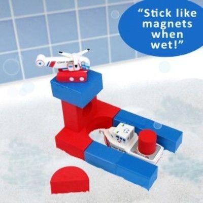 Legetøj til badet - coast guard