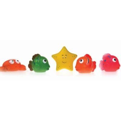 Badelegetøj - vandsprøjtende havdyr