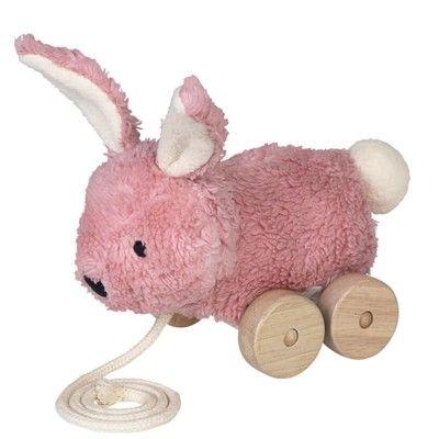 Trækdyr - Mingus pink rabbit. - økologisk fra Franck & Fischer