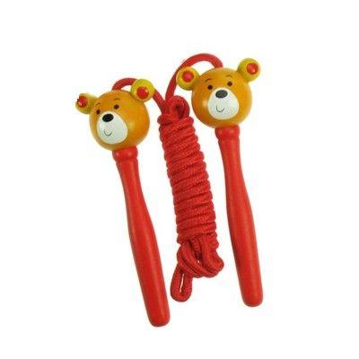 Sjippetov - bamse - røde håndtag