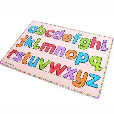 Lær dig at skrive små bogstaver - Bigjigs
