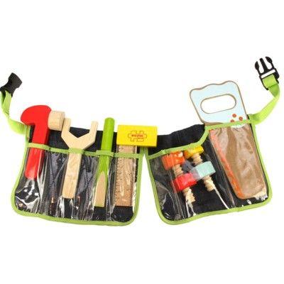 Tømmerbælte med værktøj - Bigjigs