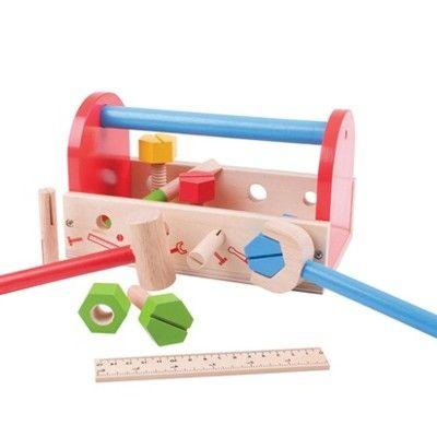 Værktøjskasse med værktøj i træ - My tool box - Bigjigs