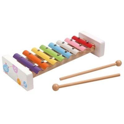 Xylofon i pastelfarver