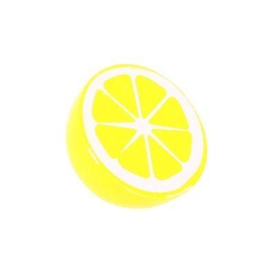 Legemad - halv citron i træ