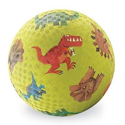 Legebold - 18 cm - Dino, grøn - Crocodile Creek