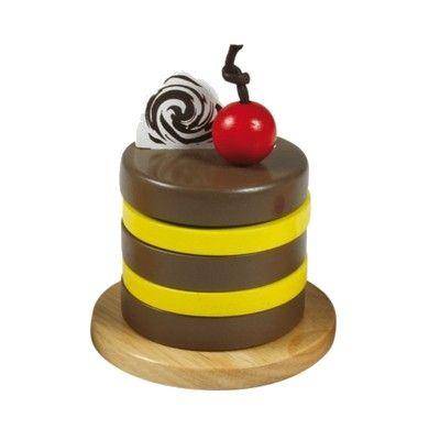Legemad - kage med chokolade