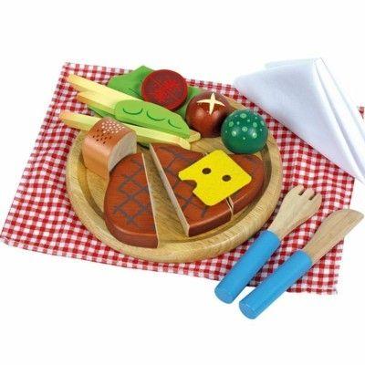 Legemad - tallerken med saftig bøf
